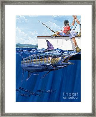 High Fives Off0043 Framed Print by Carey Chen