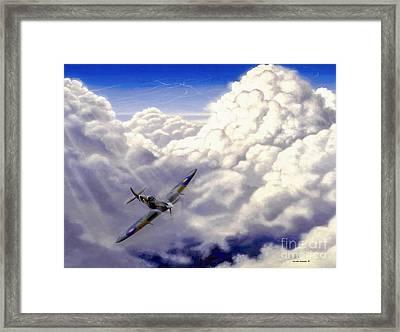 High Flight Framed Print by Michael Swanson
