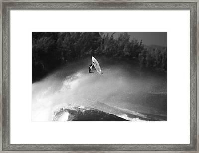 High Flyer Framed Print by Sean Davey
