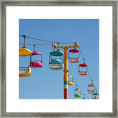 High Flying Framed Print by Art Block Collections