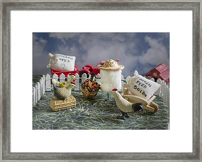High Fructose Farming Framed Print by Heather Applegate