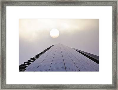 High Noon Framed Print by Bill Cannon