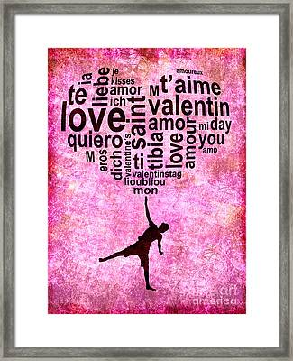 High On Love Framed Print by Delphimages Photo Creations