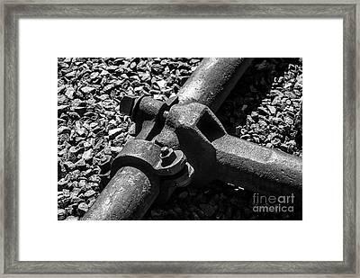High Pressure Mining Framed Print by Bob and Nadine Johnston