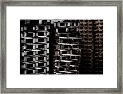 High Rise Hell Framed Print by Odd Jeppesen