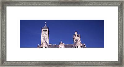 High Section View Of The Union Station Framed Print by Panoramic Images