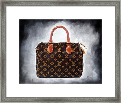 High Society Framed Print by Rebecca Jenkins
