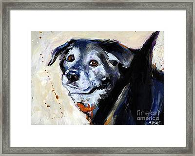 High Tail Framed Print by Molly Poole