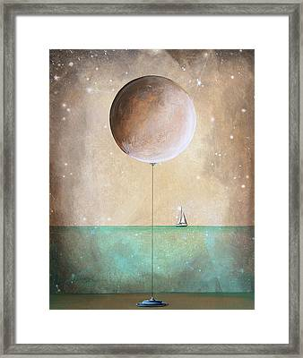 High Tide Framed Print by Cindy Thornton
