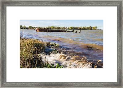 High Tide Framed Print by Dawn OConnor
