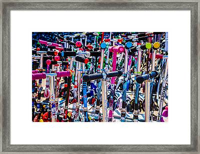 High Time To Buy A Scooter 3 Horizontal Framed Print by Alexander Senin