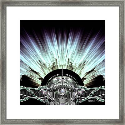 High-voltage Generator Framed Print by Diuno Ashlee
