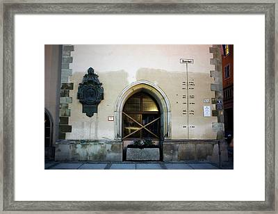 High Water Mark Record Framed Print by Michael Szoenyi