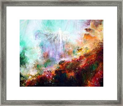 Higher Self Framed Print by Heather Calderon