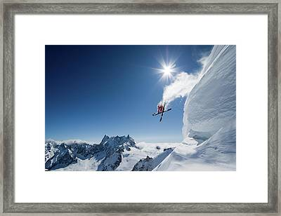 Higher Framed Print by Tristan Shu