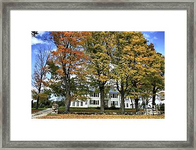 Highgate Beauty Framed Print by Deborah Benoit