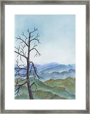 Highland Framed Print by Anastasiya Malakhova