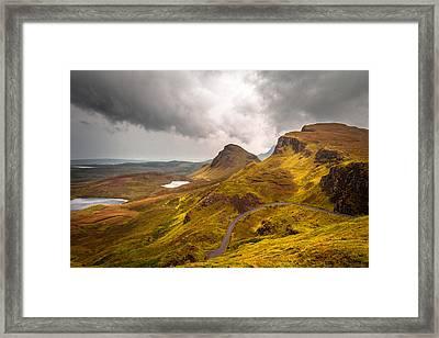 Highland Road Framed Print by Yuri Fineart