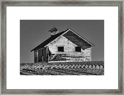 Highland School House Framed Print by Mark Kiver