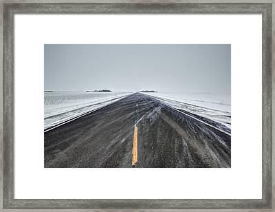 Highway 34 Framed Print by Aaron J Groen