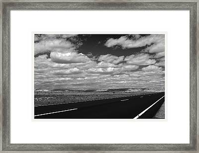 Highway 84 New Mexico Framed Print by Mark Goebel