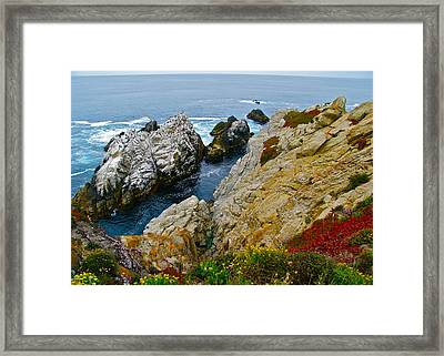 Highway One Framed Print by Michael Blesius