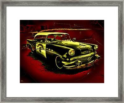Highway Patrol Framed Print by John Monteath