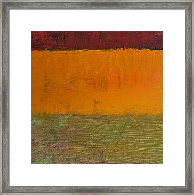 Highway Series - Grasses Framed Print by Michelle Calkins