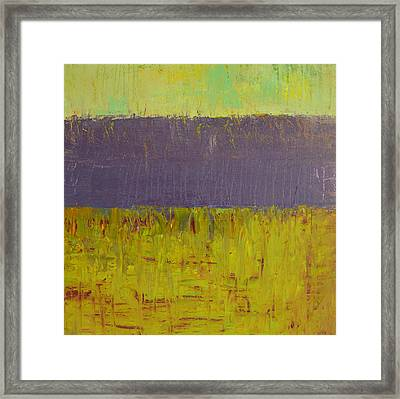 Highway Series - Lake Framed Print by Michelle Calkins