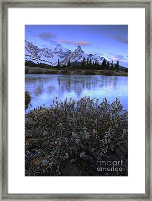 Hilda Peak Sunrise Framed Print by Dan Jurak