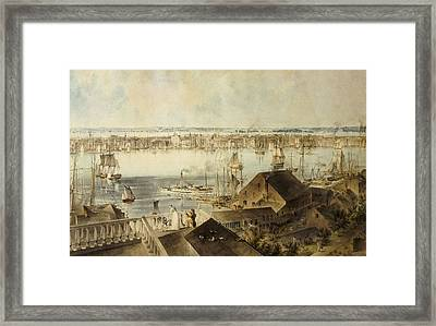 Hill, John William 1812-1879. View Framed Print by Everett