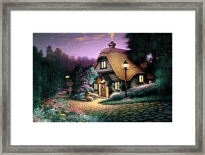 Hillcrest Cottage Framed Print by Steve Read