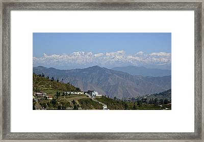 Himalayas II Framed Print by Russell Smidt