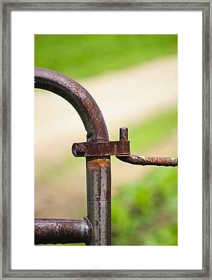 Hinged Framed Print by Christi Kraft
