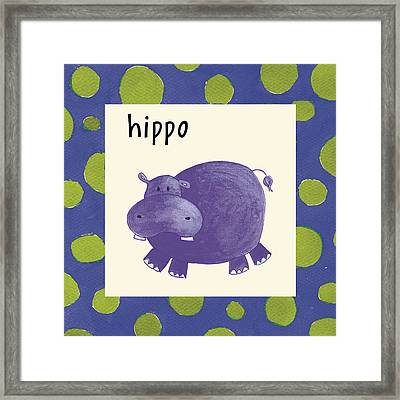 Hippo Framed Print by Esteban Studio