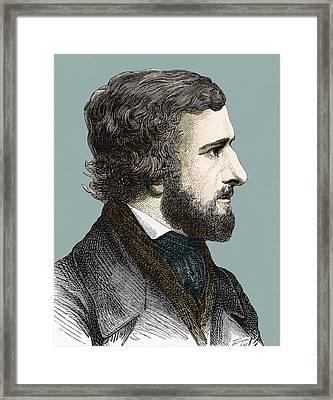 Hippolite Fizeau Framed Print by Sheila Terry