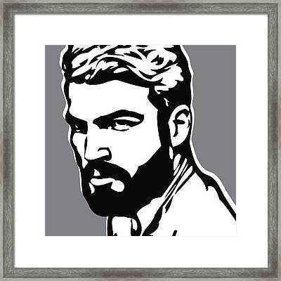 Hipster Framed Print by Chris  Lopez