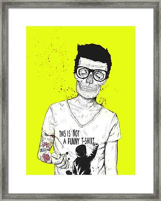 Hipsters Not Dead Framed Print by Balazs Solti