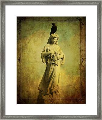 His Find Framed Print by Gothicolors Donna Snyder