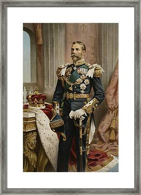 His Royal Highness The Prince Of Wales Framed Print by Samuel Begg