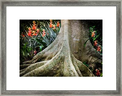 His Signature Lies In All Framed Print by Karen Wiles