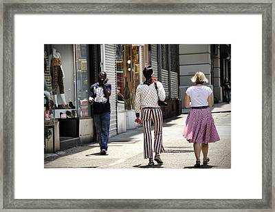 His Smile Framed Print by Joanna Madloch