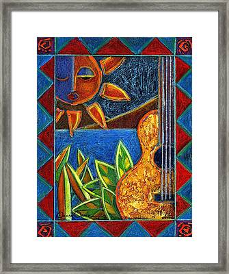 Hispanic Heritage Framed Print by Oscar Ortiz
