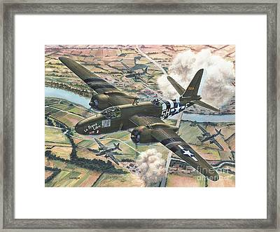 Historic A-20 Havoc Framed Print by Stu Shepherd