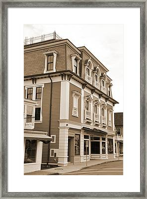 Historic Architecture Framed Print by Kirt Tisdale