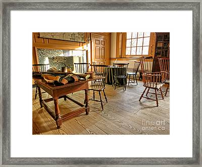 Historic Assembly Chamber Framed Print by Olivier Le Queinec
