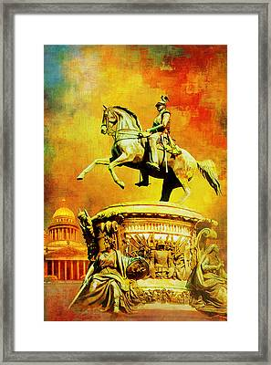 Historic Centre Of Saint Petersburg And Related Groups Of Monuments Framed Print by Catf