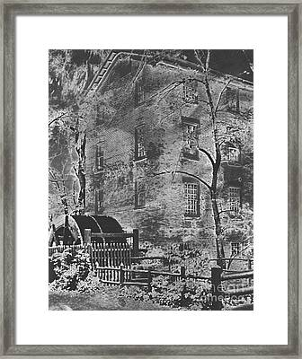 Historic Graue Mill Hinsdale Il Photographic Art Framed Print by ImagesAsArt Photos And Graphics