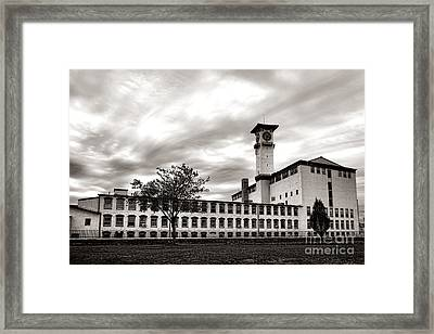 Historic Grundy Mills Framed Print by Olivier Le Queinec