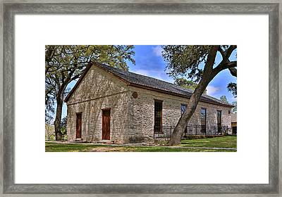 Historic Independence Baptist Church -- Texas Framed Print by Stephen Stookey
